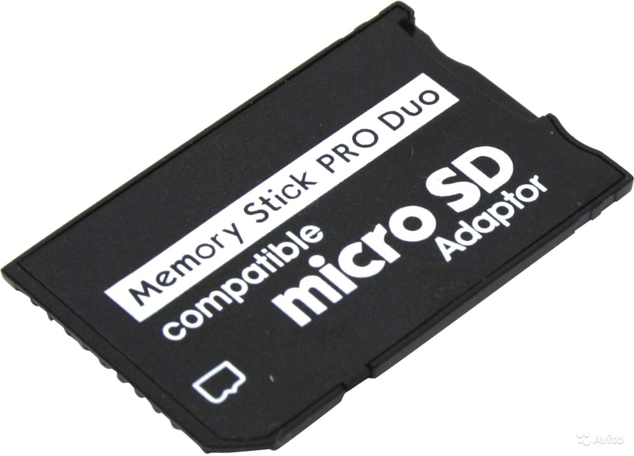 Переходник для PSP Memory Stick PRO Duo MicroSD. Омская область,  Омск