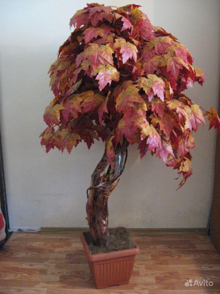 Как делать декоративные деревья своими руками