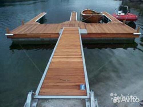 переносной мостик для рыбалки