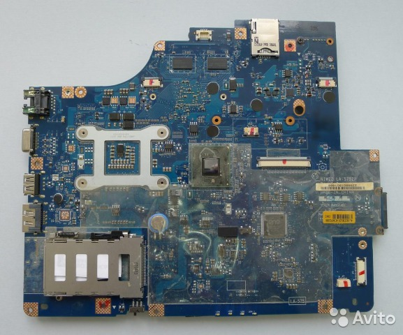 плата ноутбука Lenovo G560