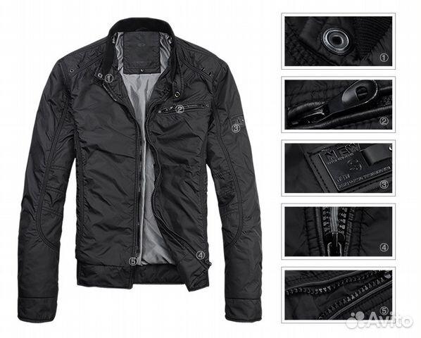 Купить Осенне Весеннюю Мужскую Куртку В Спб
