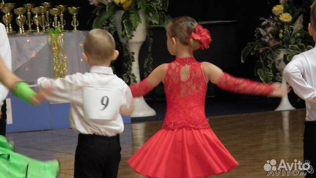 Для танцев бальные платья детей