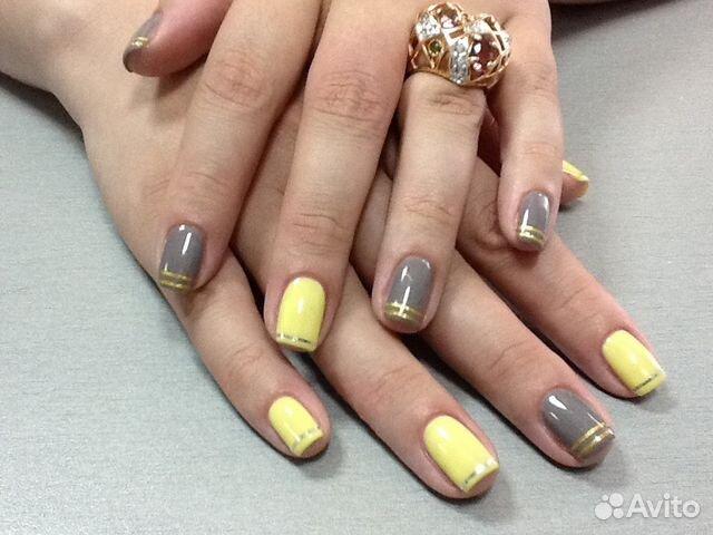 Дизайн ногтей гельлаком