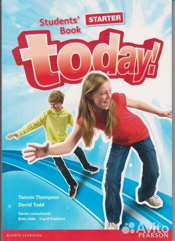 89376671516 Учебник Английского Today starter