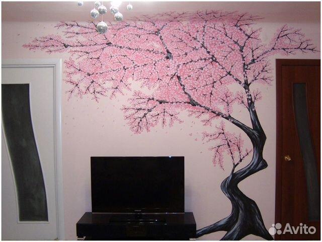 Рисунки на стену в комнате фото - Онлайн курсы