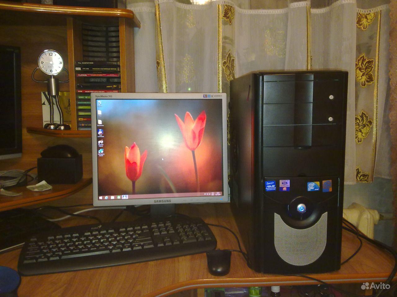 Продаю пк I-Core2 E-8400+ Монитор+ Принтер купить в Саратовской ...