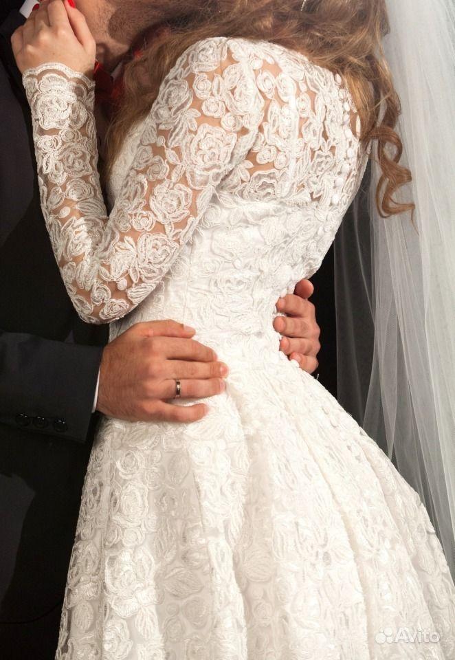 Avito платье свадебное