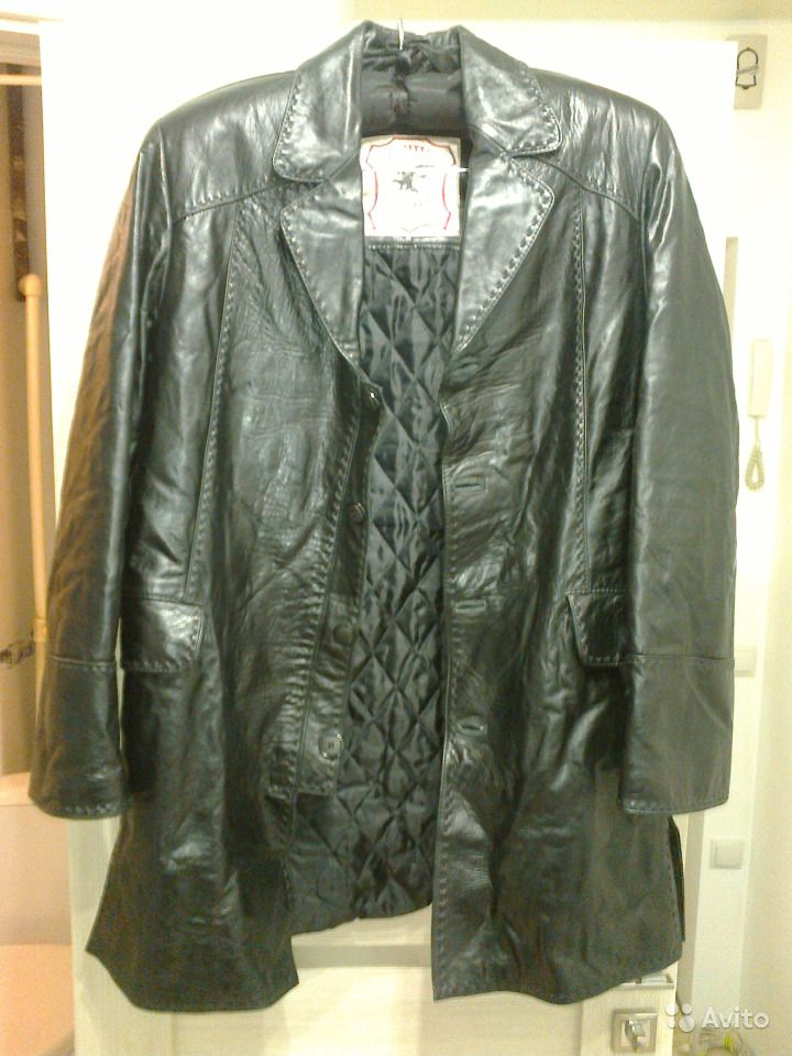 9ac1c770 Куртка френч кожаная | Festima.Ru - Мониторинг объявлений
