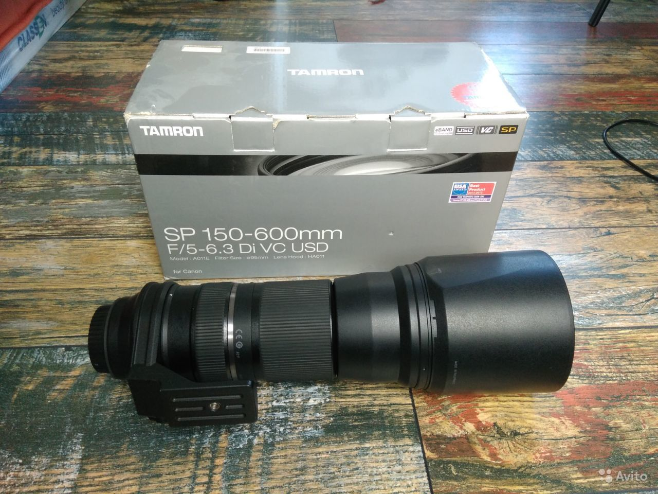 Tamron SP 150-600mm a011 Canon EF
