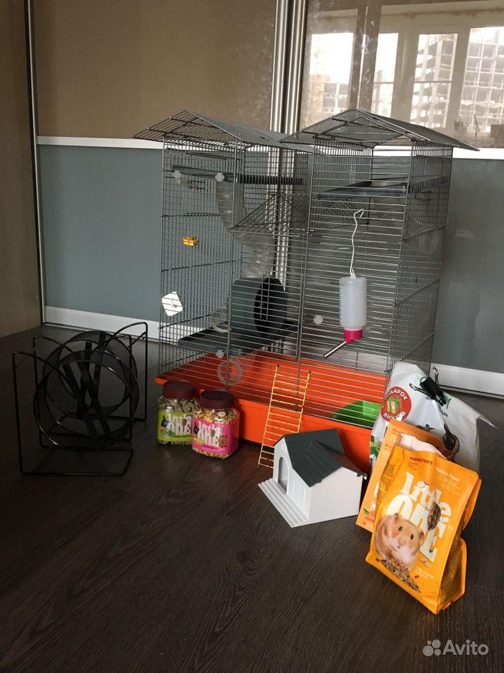 Уютная клетка для грызунов