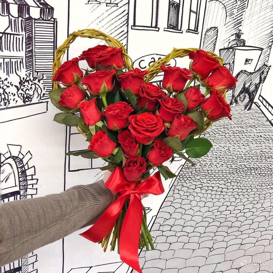 Букет Сердце купить на Зозу.ру - фотография № 4