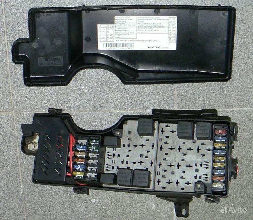 Блок предохранителей Volvo S80