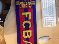 Футбольный шарф фк Барселона(из фирменного магазин — Одежда, обувь, аксессуары в Москве