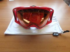 Маска Oakley Crowbar Snow Viper Red W/Persimmon