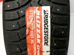 Япония 275/65 R17 Bridgestone Spike 01 шипы