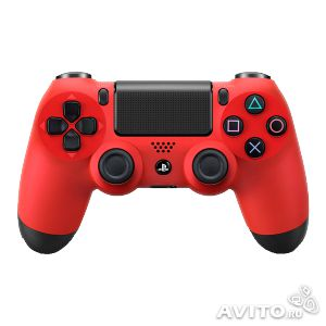 Sony DualShock 4 Red ps4— фотография №1