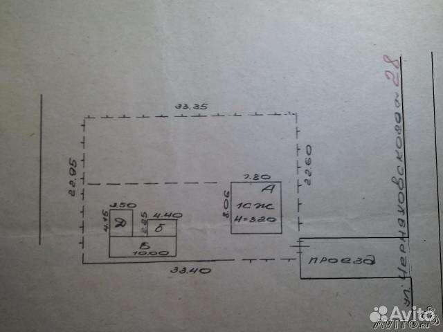 Дом 50 м² на участке 7.7 сот.
