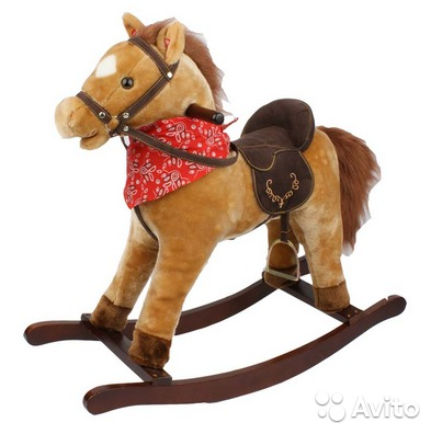 Новая лошадка-качалка для детей gs2021 купить в Челябинской GC72