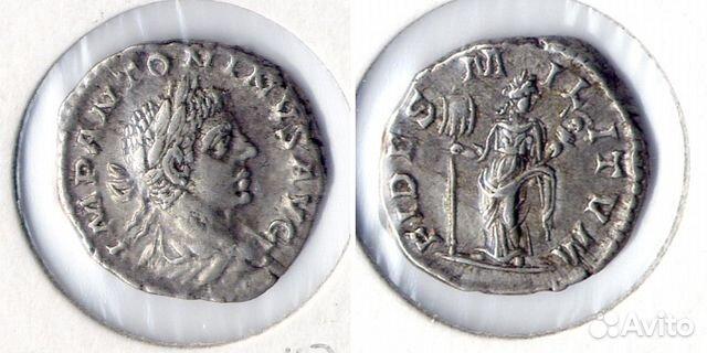 Денарий римский альбом папка для монет