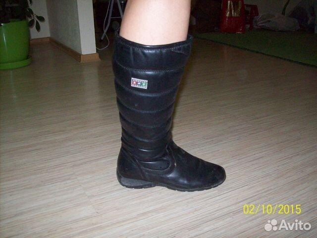 Продам женские осенние сапоги без каблука купить в Томской области ... 2e3b1543952e5