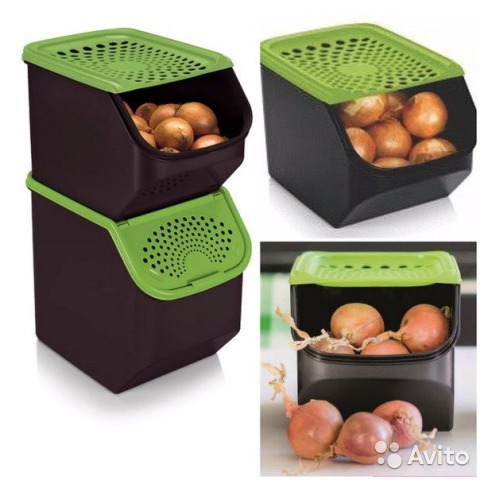 Контейнеры для хранения овощей от tupperware купить в санкт-.