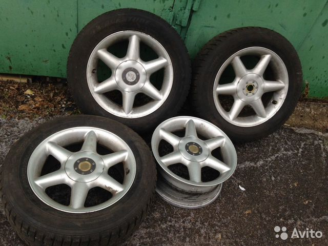 Диски Rial 7j R15 5x98 ET30 Made in Germany