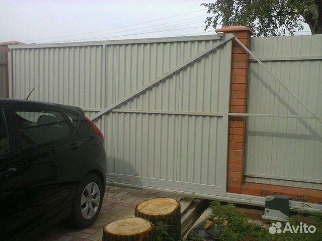 Раздвижные ворота автоматические в твери электропривод ворот robus rb600