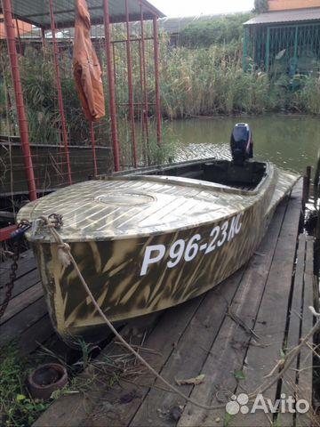 купить бу лодку темрюк