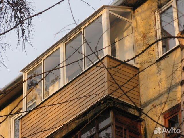 Балкон алюминиевый под ключ 3000x800x1500 с крышей купить в .