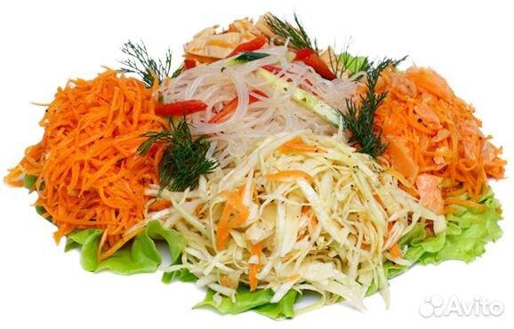 фотографии корейских салатов