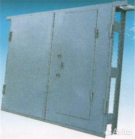 металлические стальные двери и защитные гаражные ворота