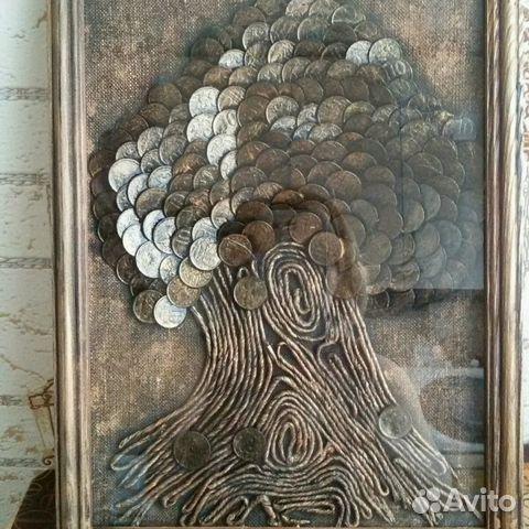 Необычное хобби жительницы Кишинева – она создает картины из монет