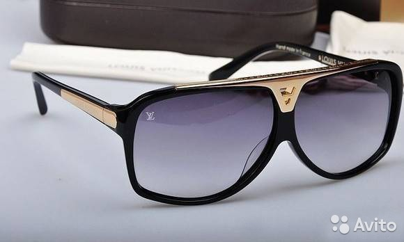 Солнцезащитные очки Louis Vuitton новые   Festima.Ru - Мониторинг ... 1226ea5c1bd