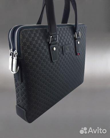 daad4b4751c2 Мужская сумка портфель Gucci арт.5096-2 купить в Москве на Avito ...
