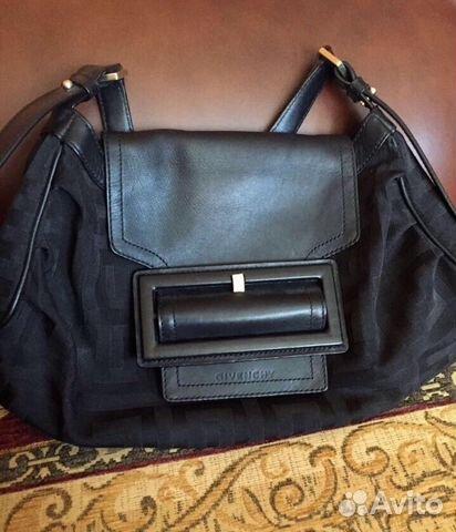 53db93f9caf3 Чёрная стильная женская сумка Givenchy (оригинал) купить в Москве на ...
