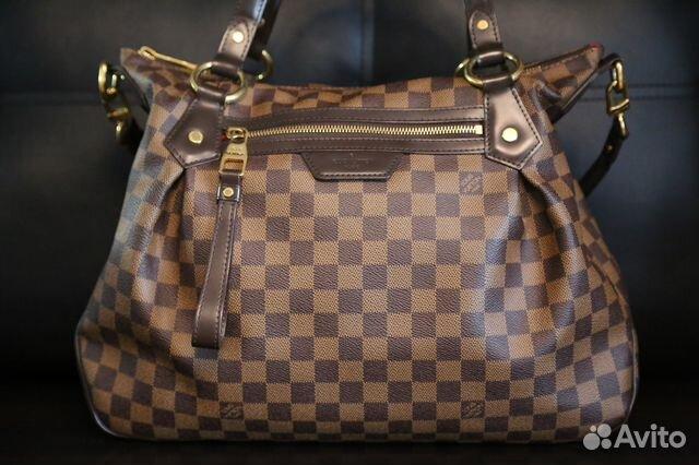 Сумка женская Louis Vuitton Evora Damier, оригинал купить в Москве ... b343298de5b