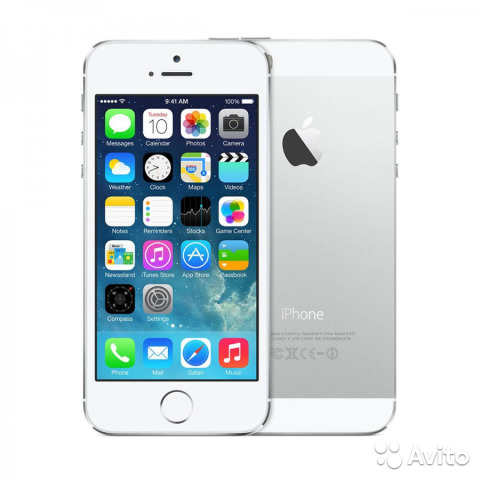 Apple iPhone 5S 64Gb Silver (REF)