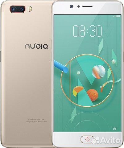 Новый ZTE Nubia M2 Gold 4/64 Gb Snapdragon 625