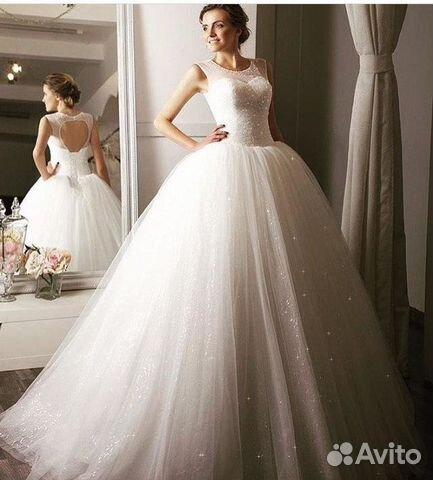 d67bc90a7cf Свадебное платье Испания купить в Москве на Avito — Объявления на ...