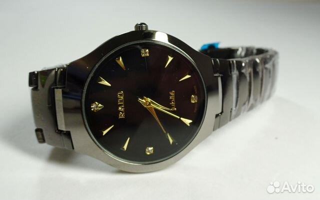 edfa113220cd Мужские часы Rado Jubile на черном браслете купить в Свердловской ...