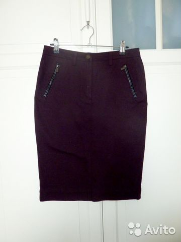 9071c0ef0b8 Джинсовая фиолетовая юбка (размер S)