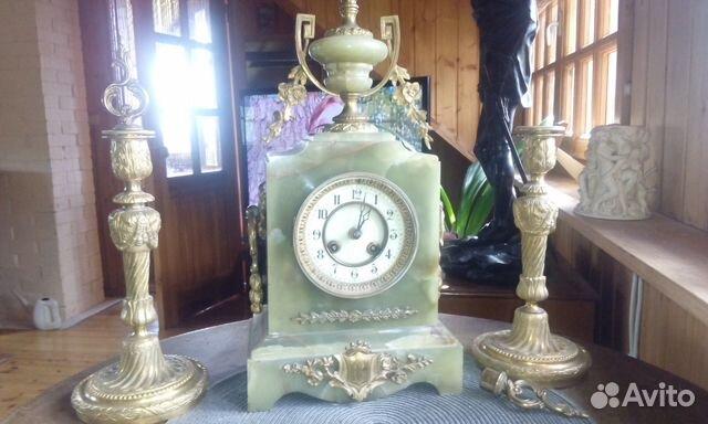 Часы с сейфом Лев серо-красный мрамор   Festima.Ru - Мониторинг ... 293114b9569