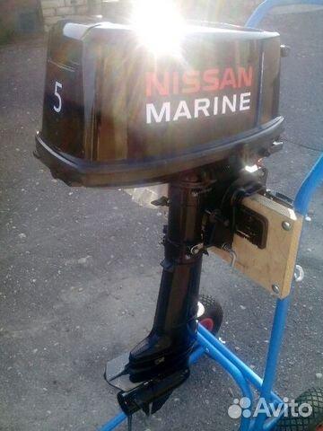 лодочный мотор nissan marine