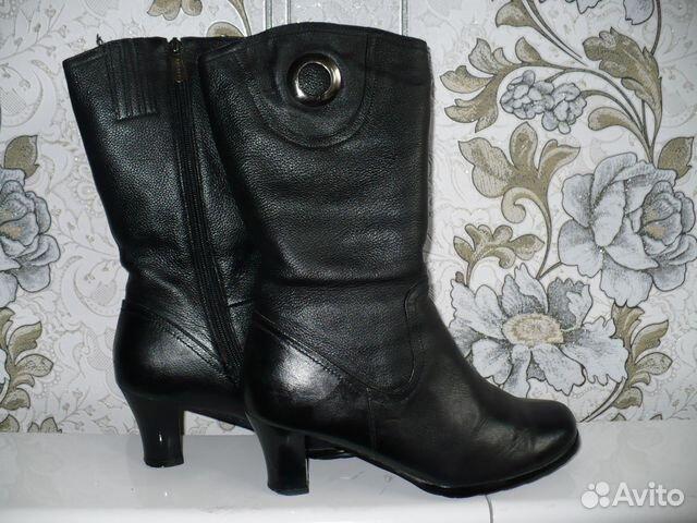 846bab337 Зимние кожаные сапоги   Festima.Ru - Мониторинг объявлений