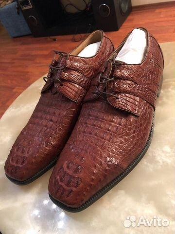 Туфли мужские из кожи крокодила   Festima.Ru - Мониторинг объявлений e8e38670307