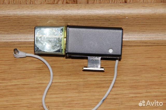 Винтажная вспышка Konica на магниевых кубиках 89052471031 купить 3