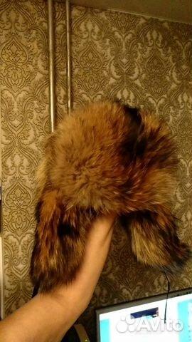 Шапка мужская (енот, натур. мех) 89014345533 купить 1