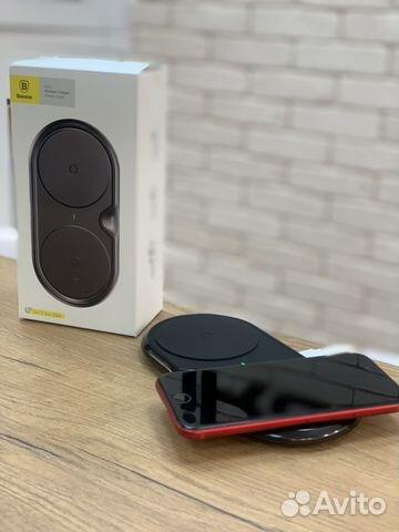 Беспроводное зарядное устройство Baseus Dual Wirel 89527999199 купить 1