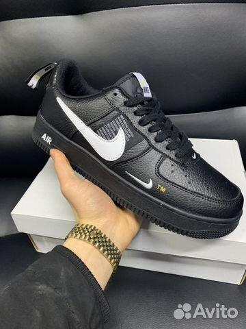 47e168c9 Кроссовки Nike Air Force 1 Utility black | Festima.Ru - Мониторинг ...
