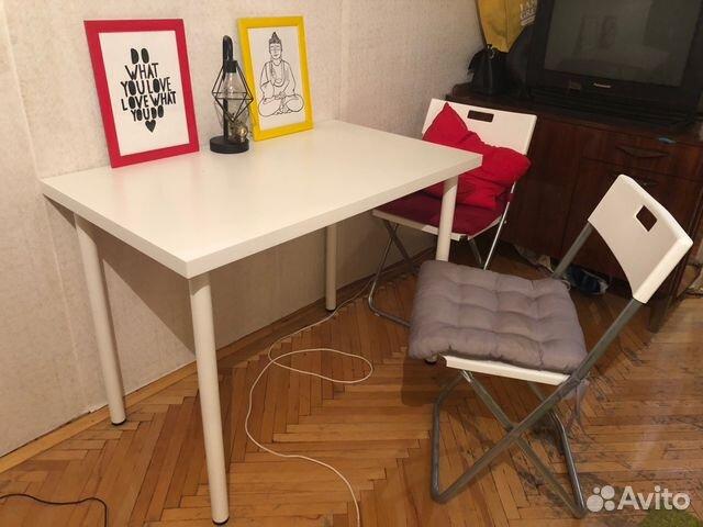 стол и стулья из Ikea Festimaru мониторинг объявлений